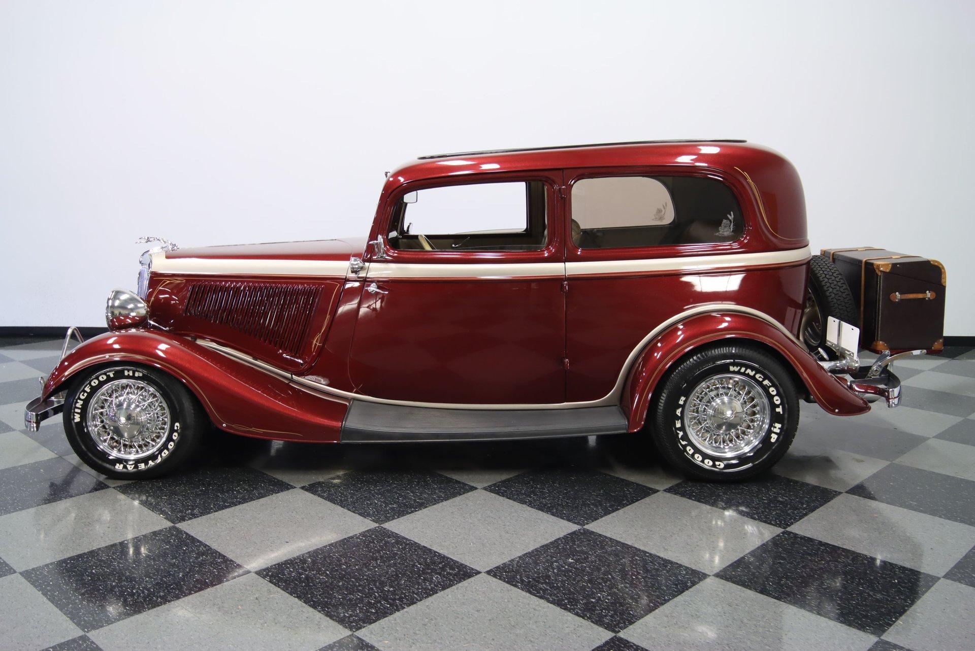 1934 ford tudor streetrod