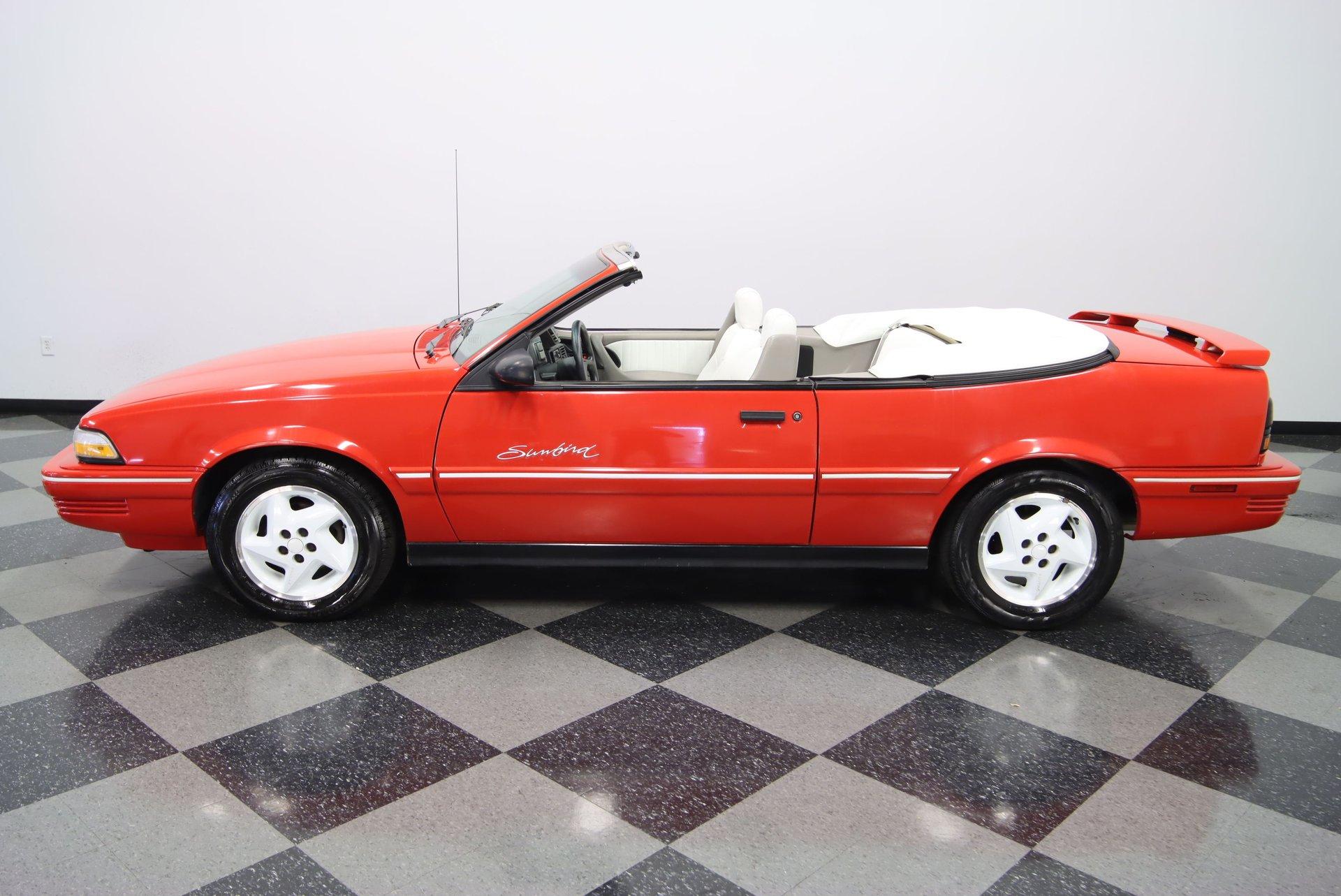 1993 pontiac sunbird convertible