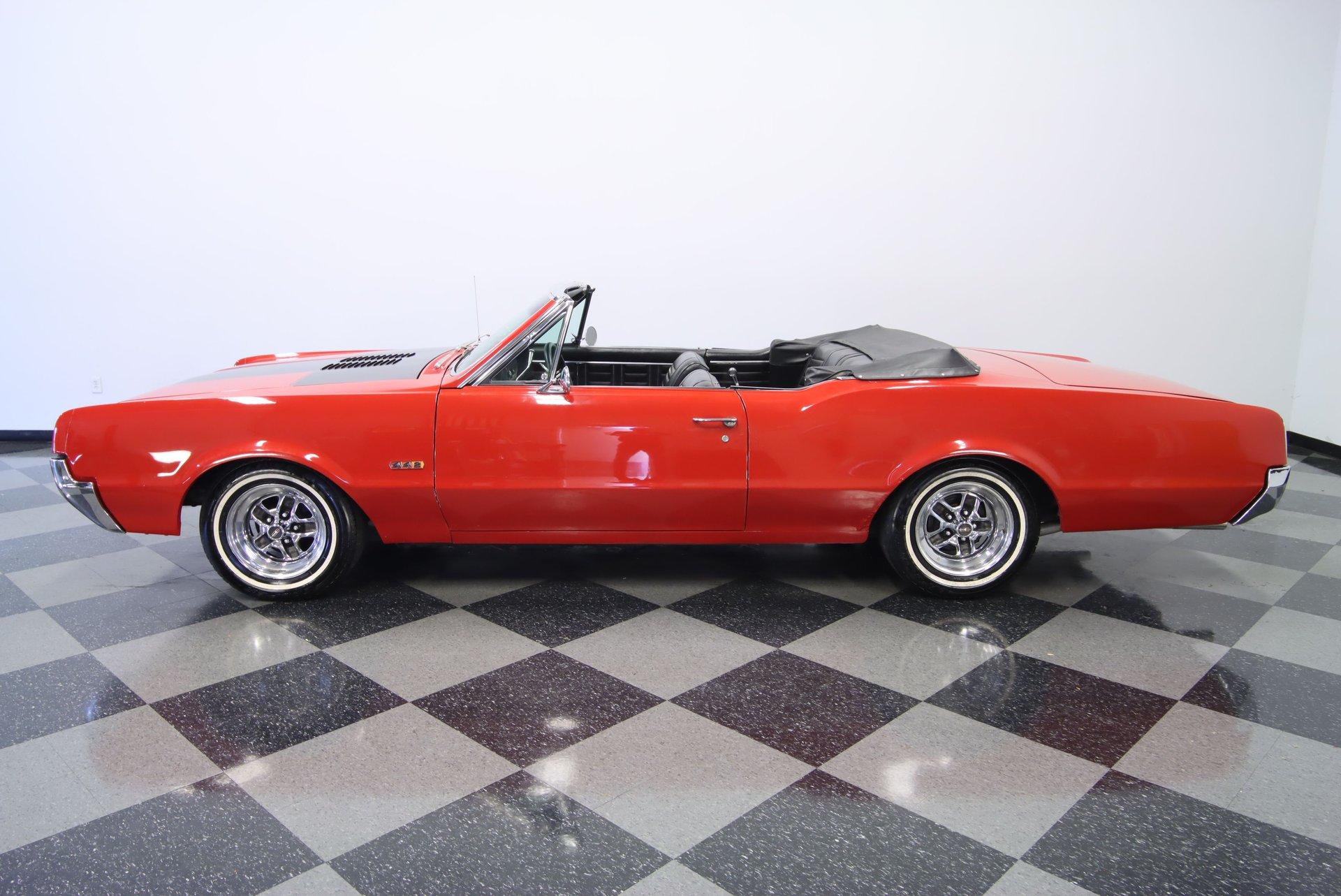 1967 oldsmobile cutlass 442 tribute convertible