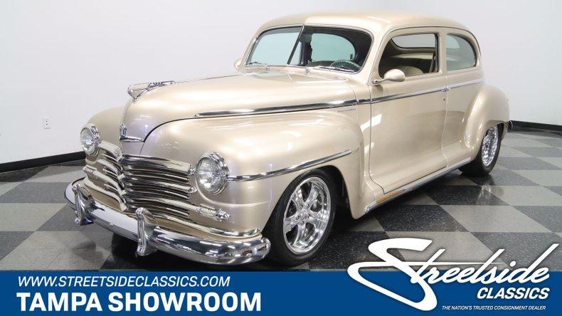 For Sale: 1948 Plymouth 2 Door Sedan