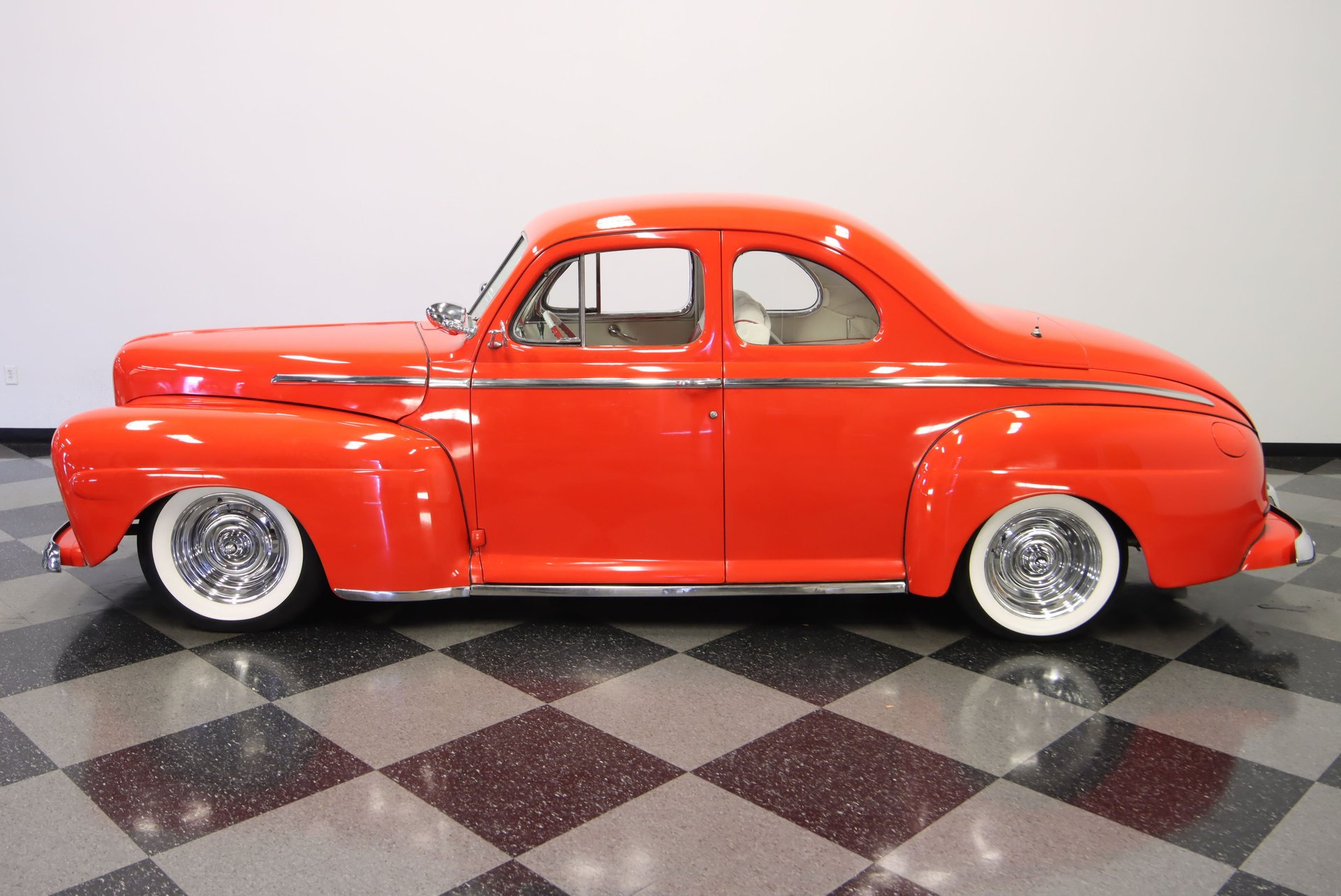 1948 ford super deluxe business coupe