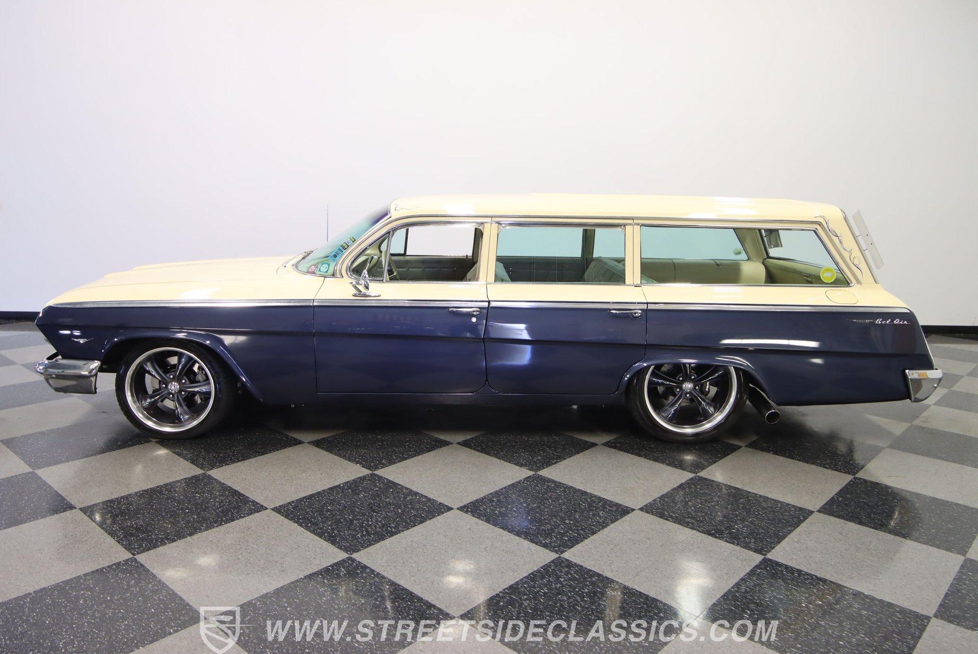 1962 chevrolet bel air restomod wagon