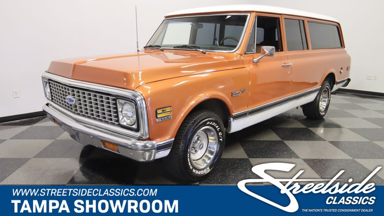 For Sale: 1972 Chevrolet Suburban