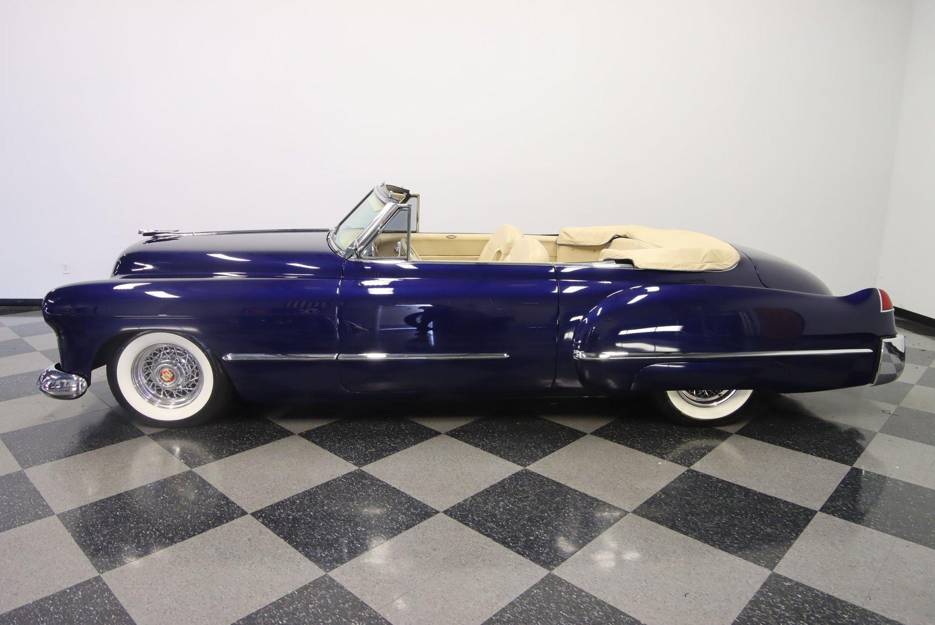 1948 cadillac series 62 convertible restomod