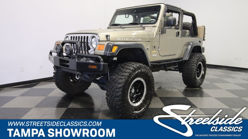 For Sale: 2005 Jeep Wrangler