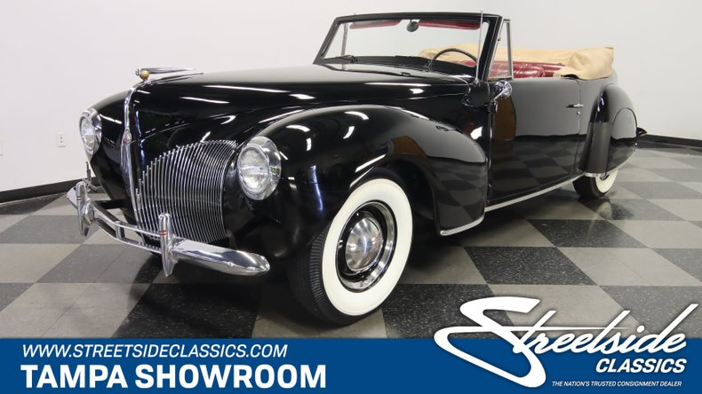 For Sale: 1940 Lincoln Zephyr
