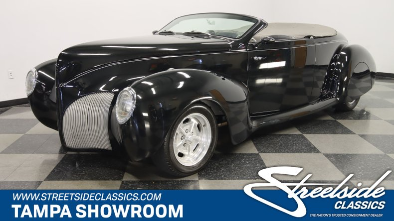 For Sale: 1939 Lincoln Zephyr