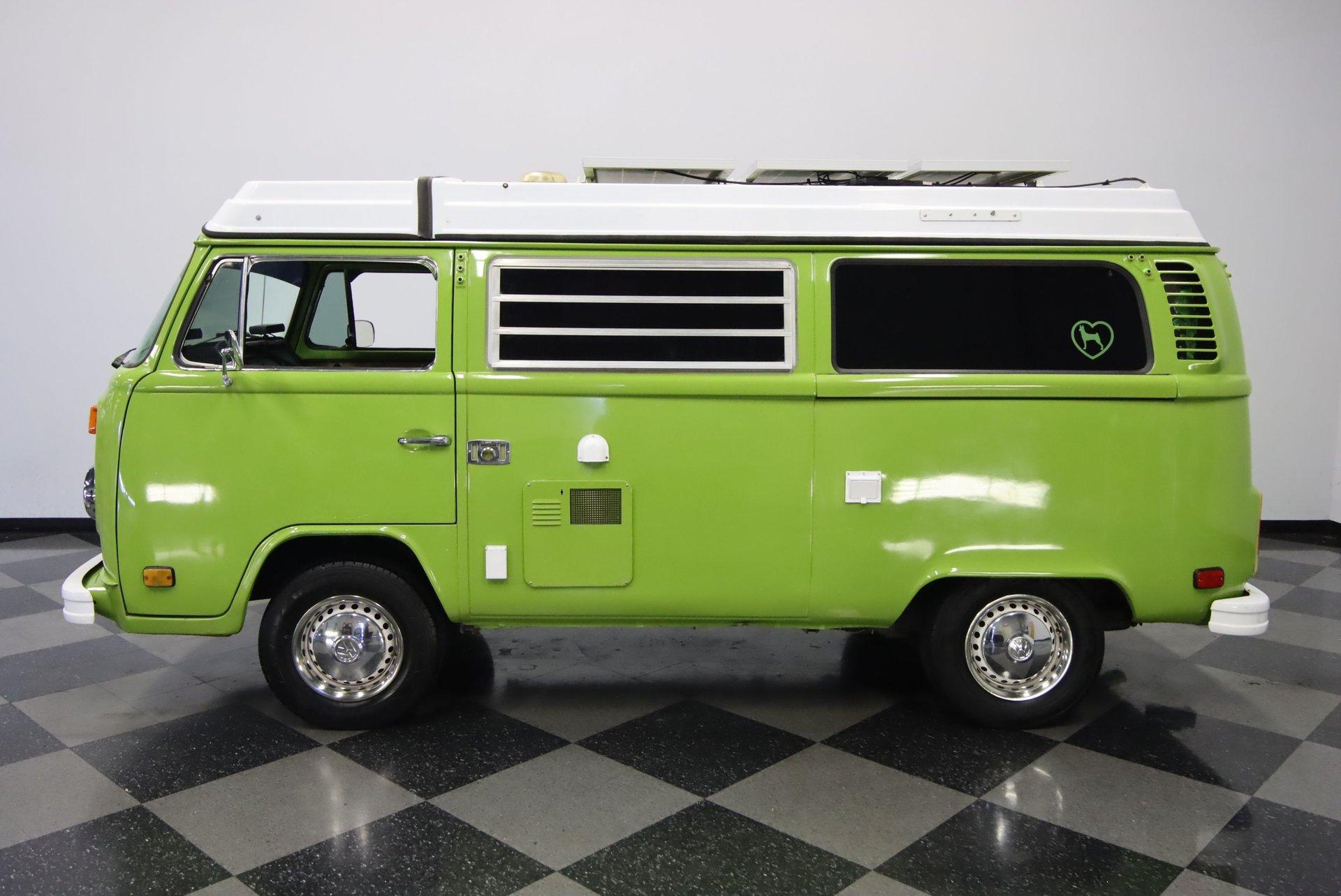 1978 volkswagen type 2 westfalia camper van