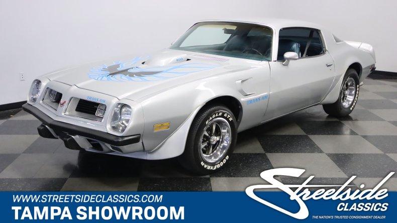 For Sale: 1975 Pontiac Firebird