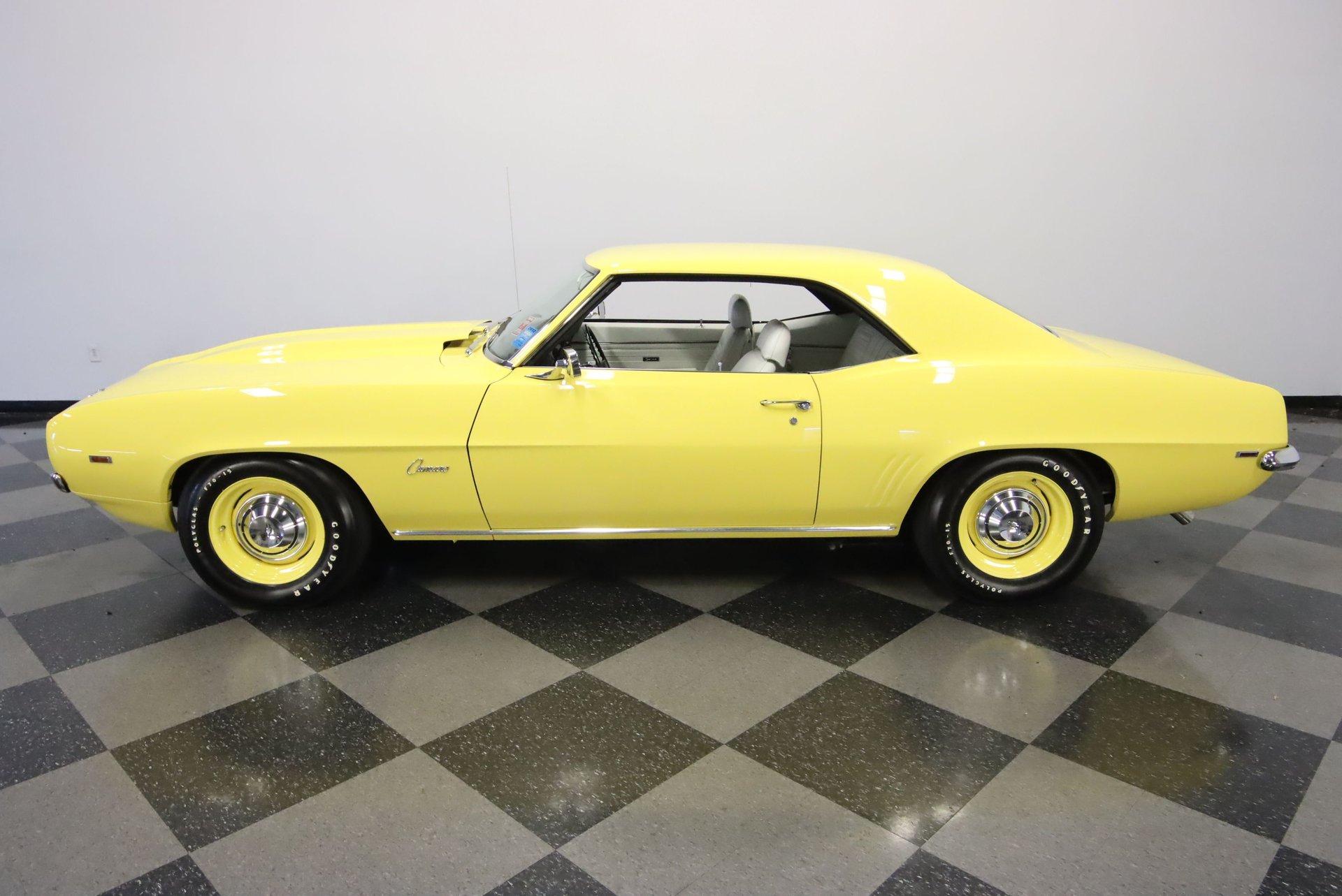 1969 chevrolet camaro zl1 tribute