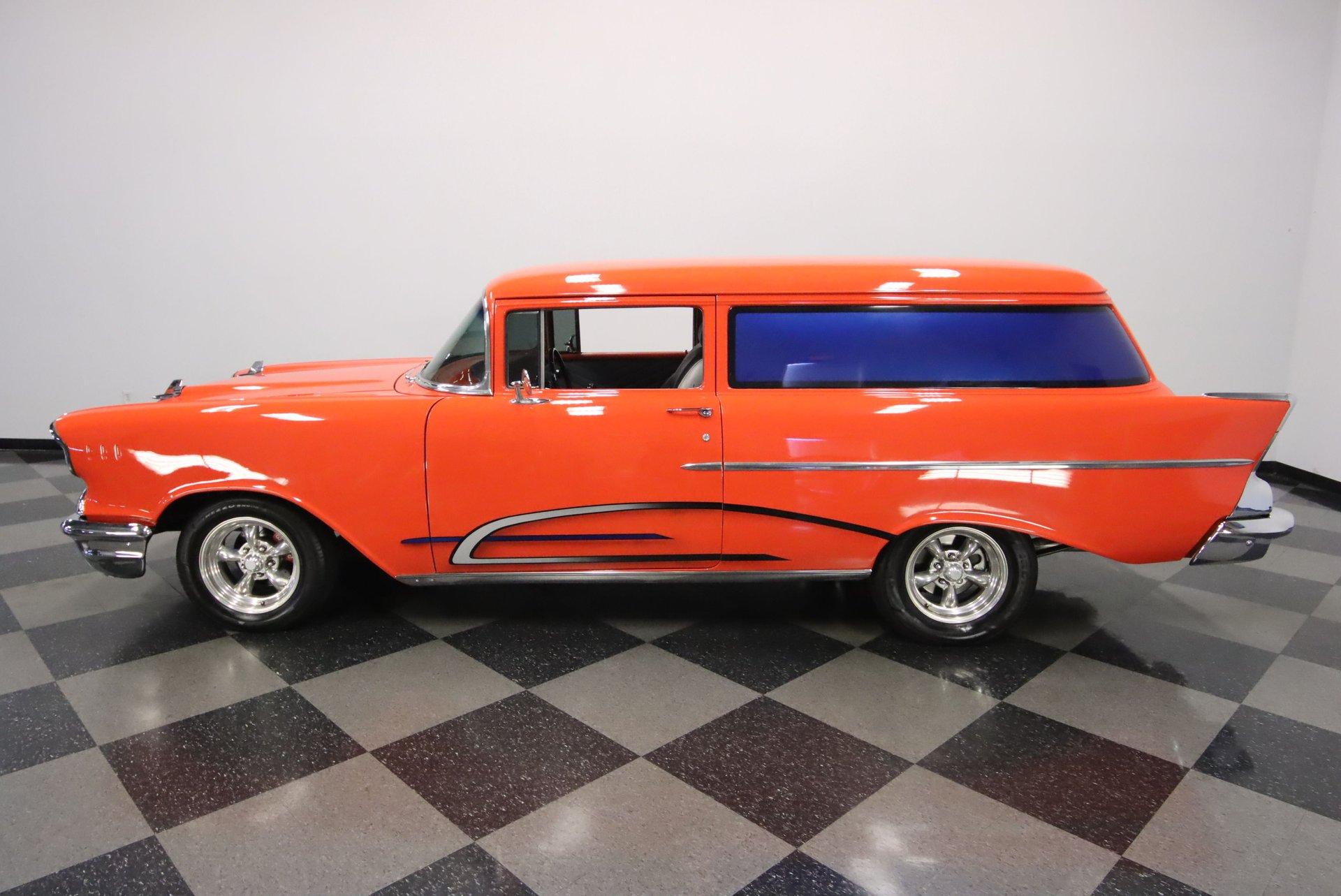 1957 chevrolet 150 sedan delivery restomod