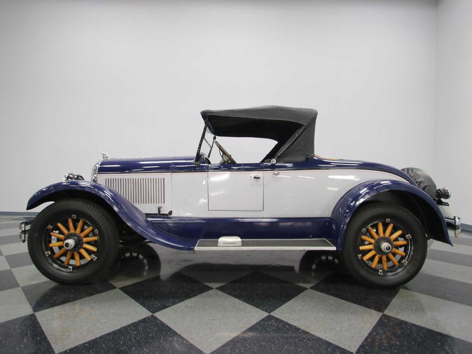 1924 chrysler b 70 roadster