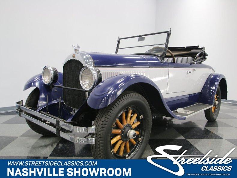 For Sale: 1924 Chrysler B-70 Roadster