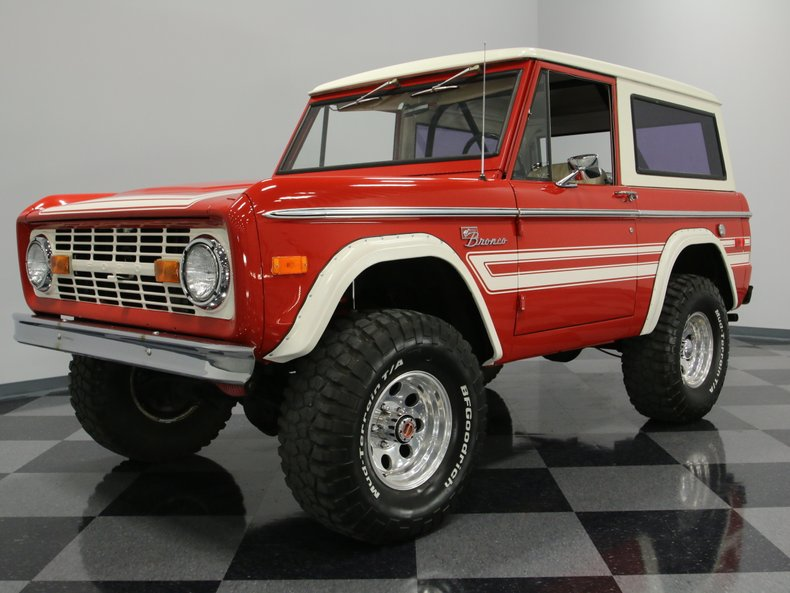 For Sale: 1976 Ford Bronco