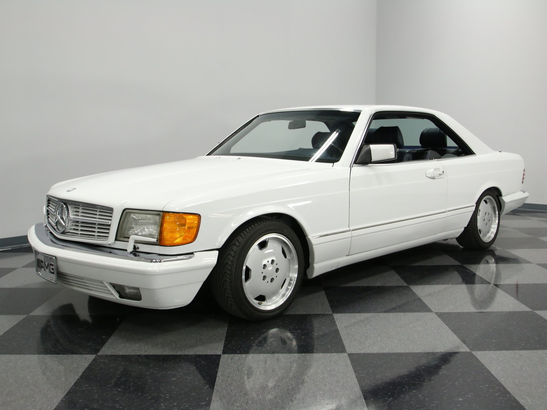 1990 mercedes benz 560sec amg