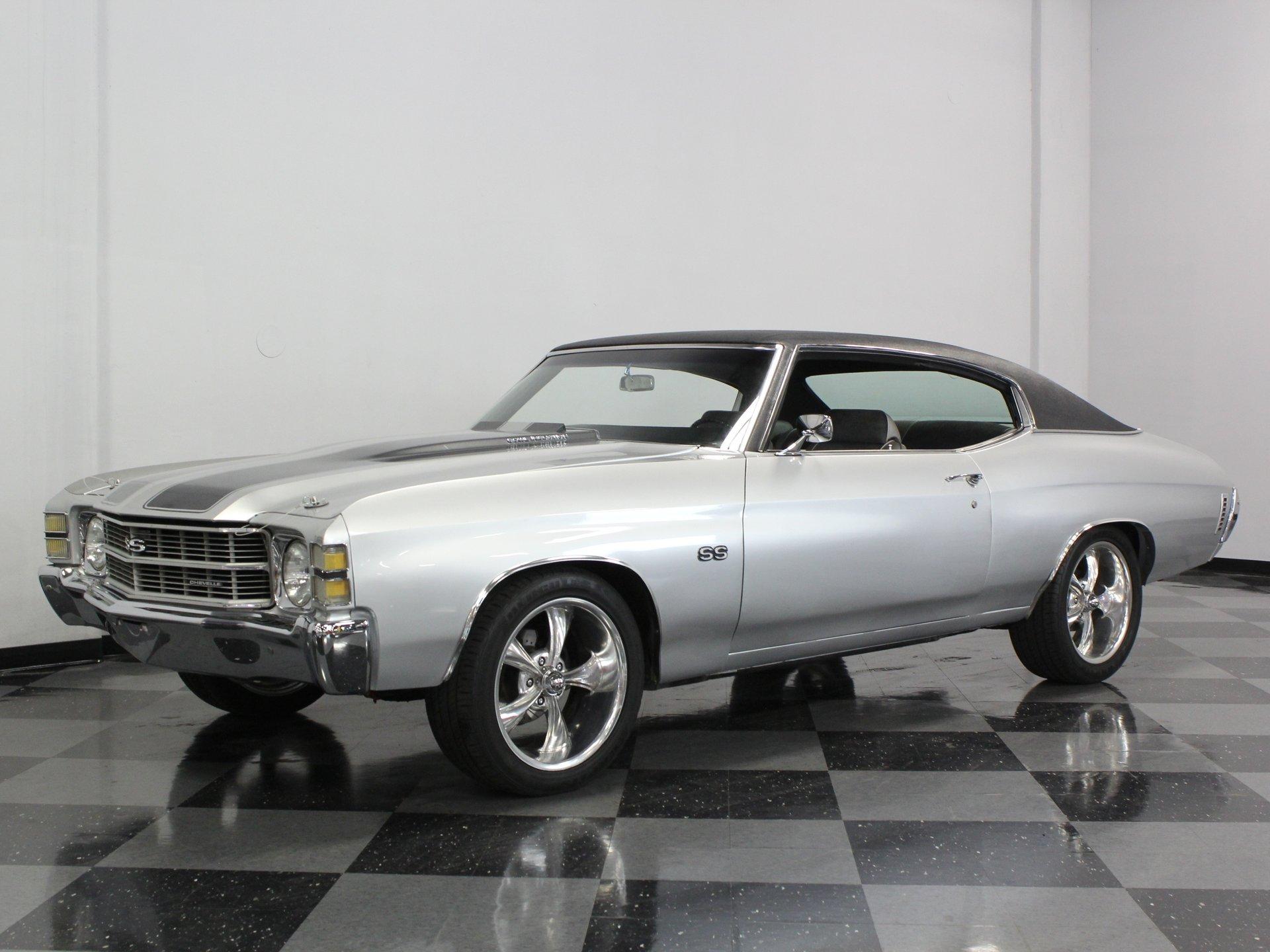 1971 chevrolet chevelle ss 454 clone