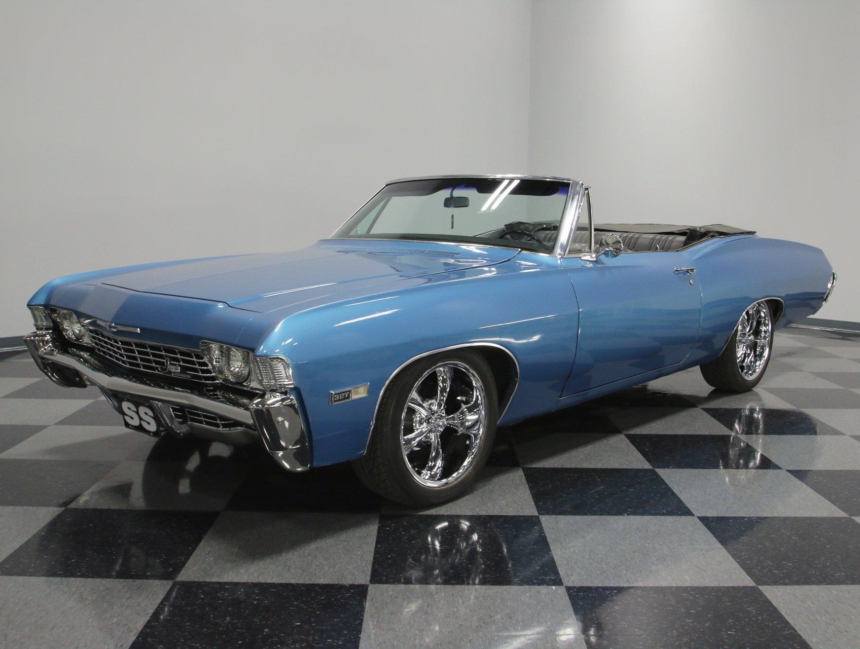 1968 chevrolet impala ss