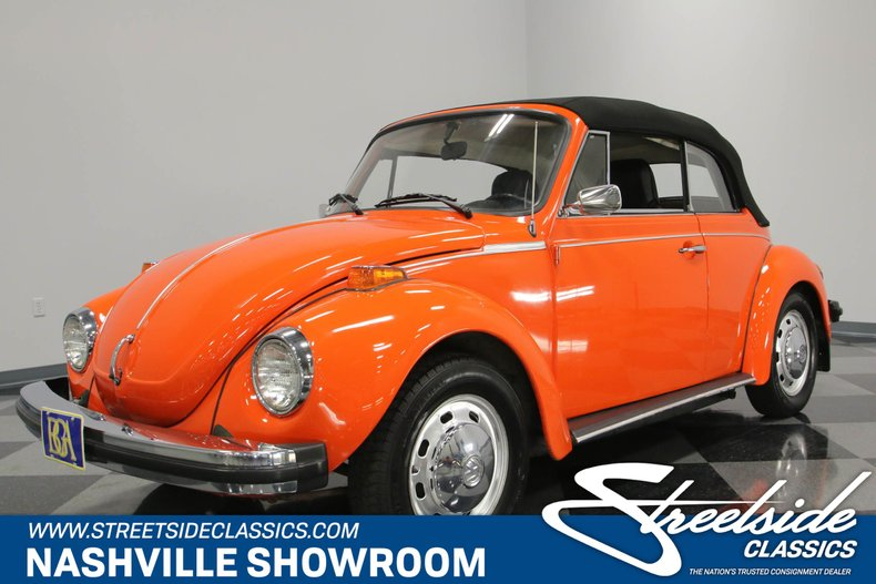 For Sale: 1974 Volkswagen Beetle