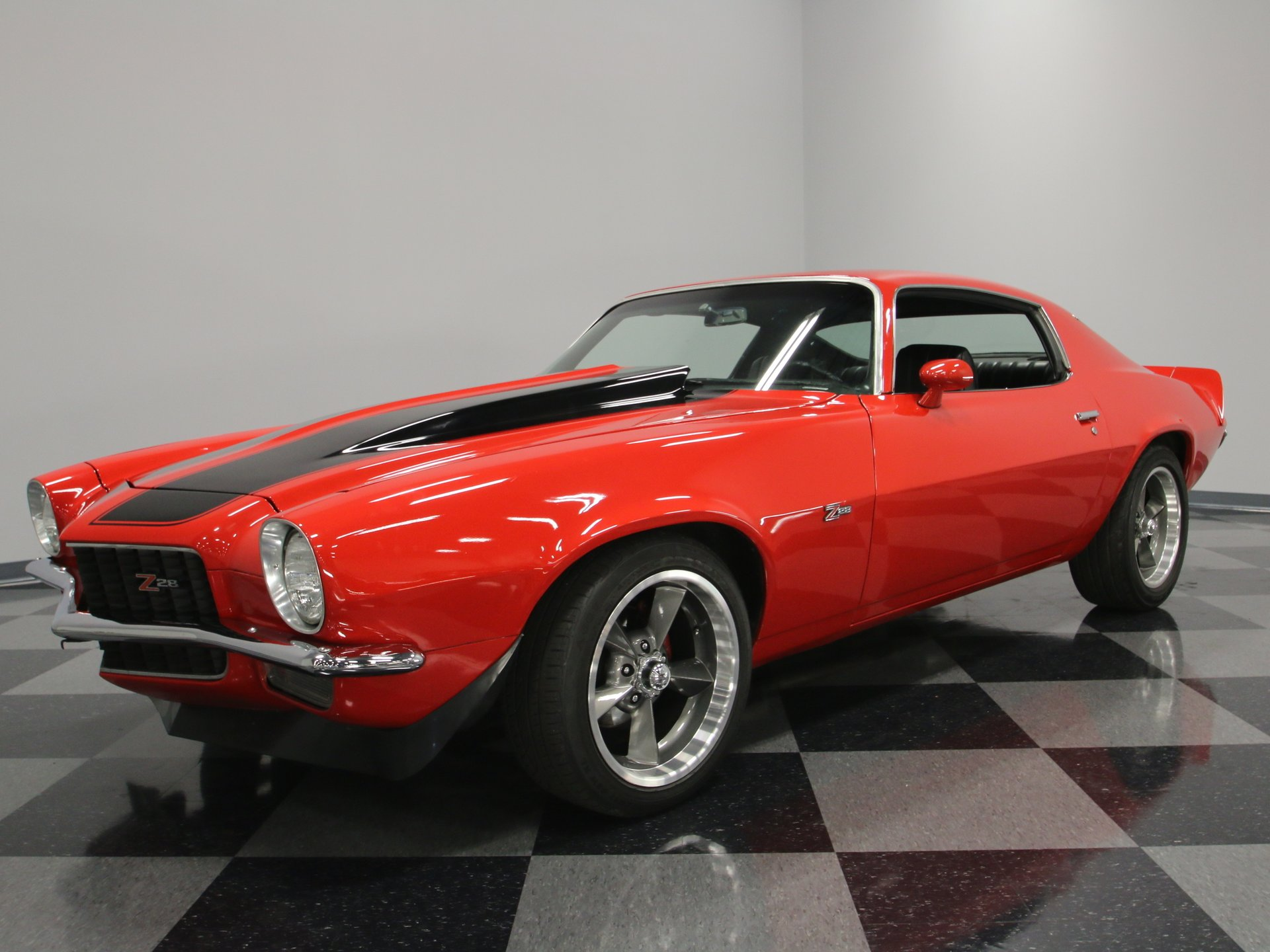 1971 chevrolet camaro z 28 tribute