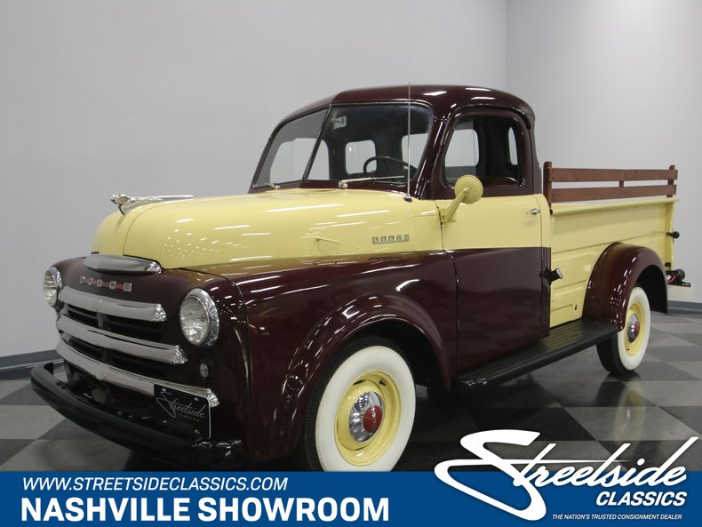 For Sale: 1950 Dodge B-2
