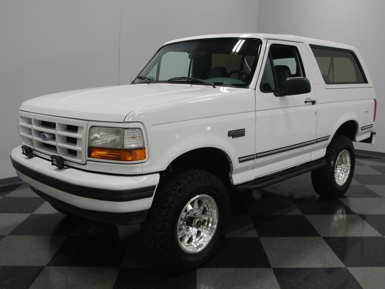 For Sale: 1996 Ford Bronco