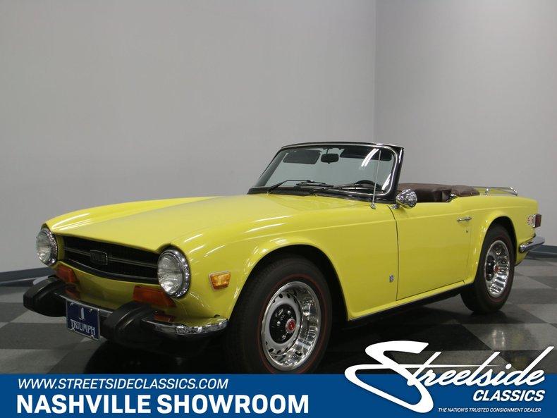 For Sale: 1974 Triumph TR6