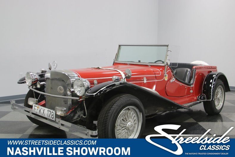 For Sale: 1929 Mercedes-Benz Gazelle