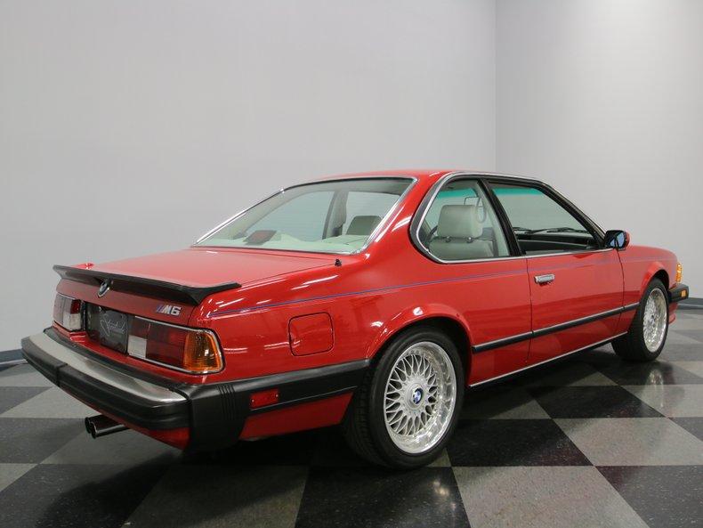 1987 BMW M6 20