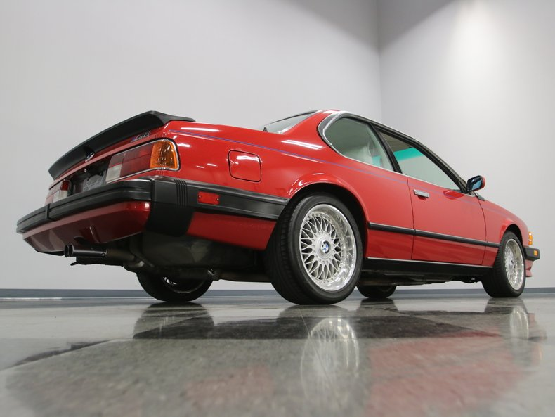1987 BMW M6 22