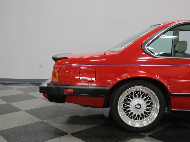 1987 BMW M6 27