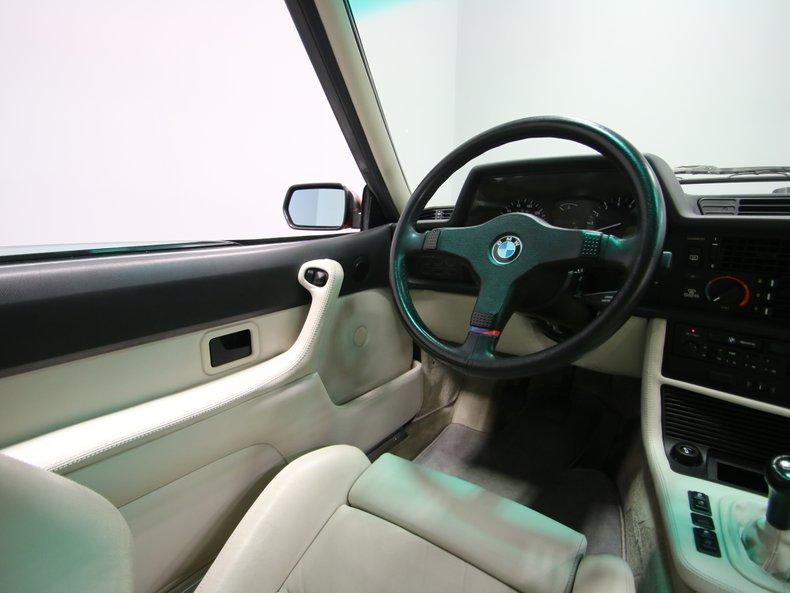 1987 BMW M6 52