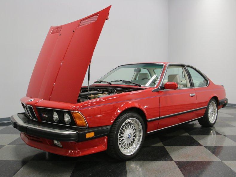 1987 BMW M6 33