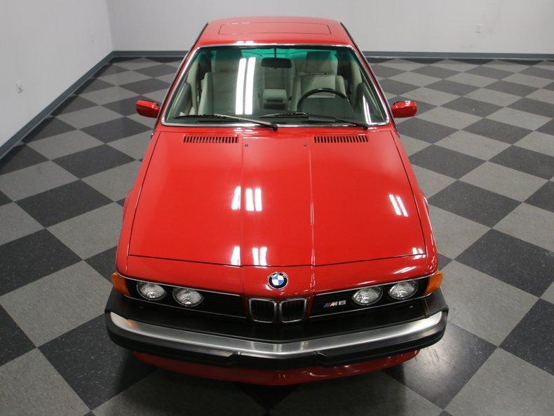 1987 BMW M6 6