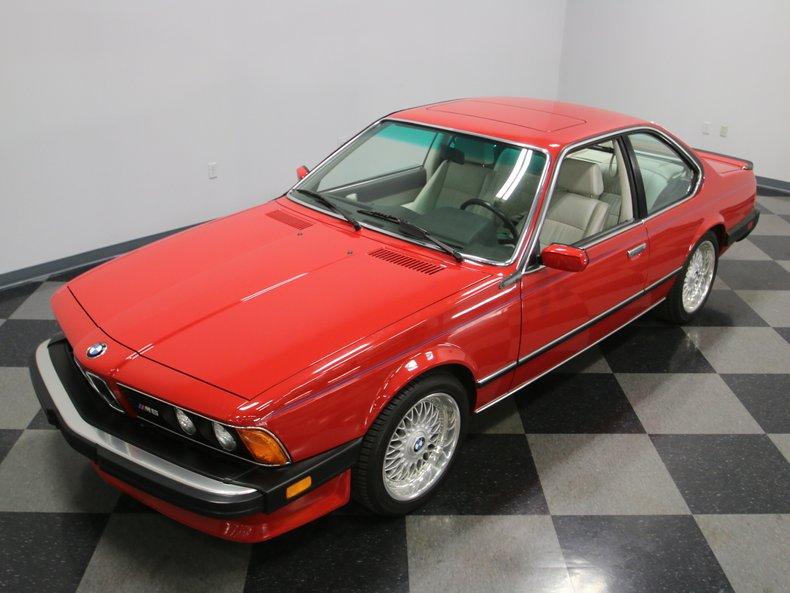 1987 BMW M6 7