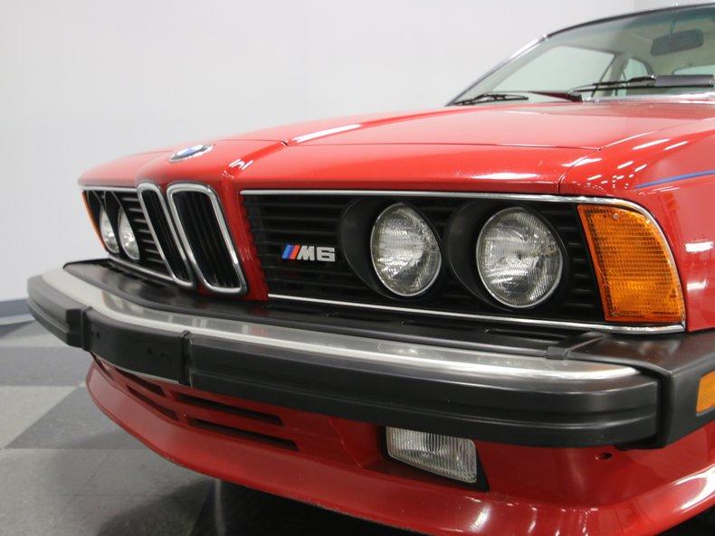 1987 BMW M6 9