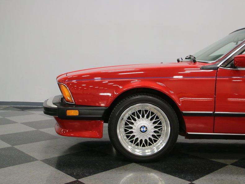 1987 BMW M6 12