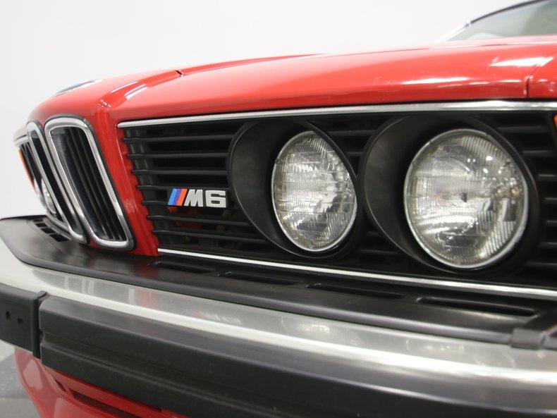 1987 BMW M6 70