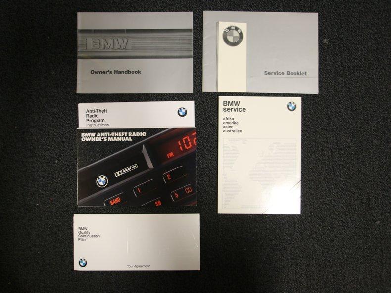 1987 BMW M6 76