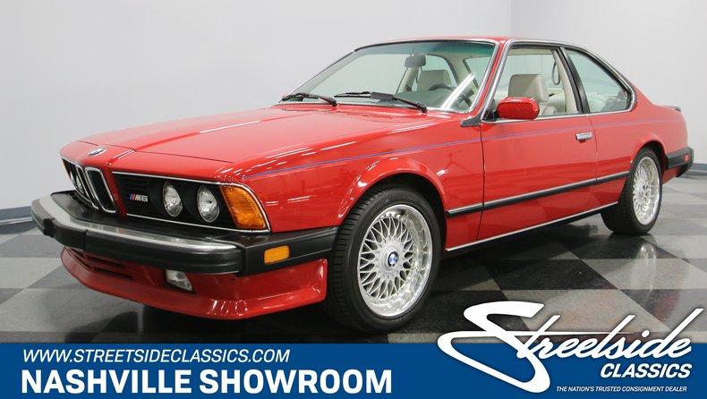 1987 BMW M6 1