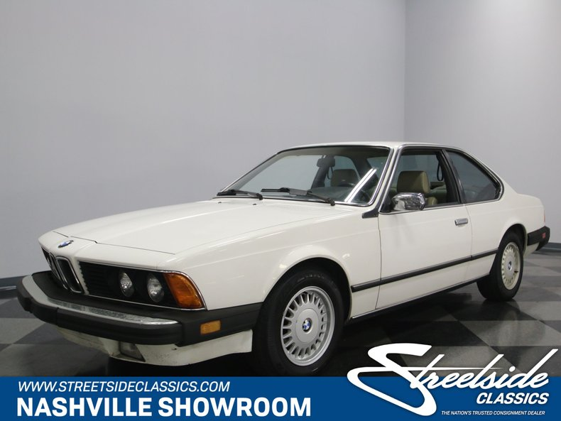 For Sale: 1986 BMW 635csi