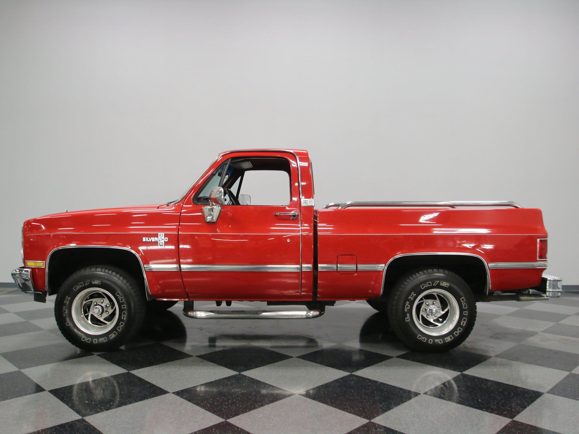 1985 chevrolet silverado 1500 4x4