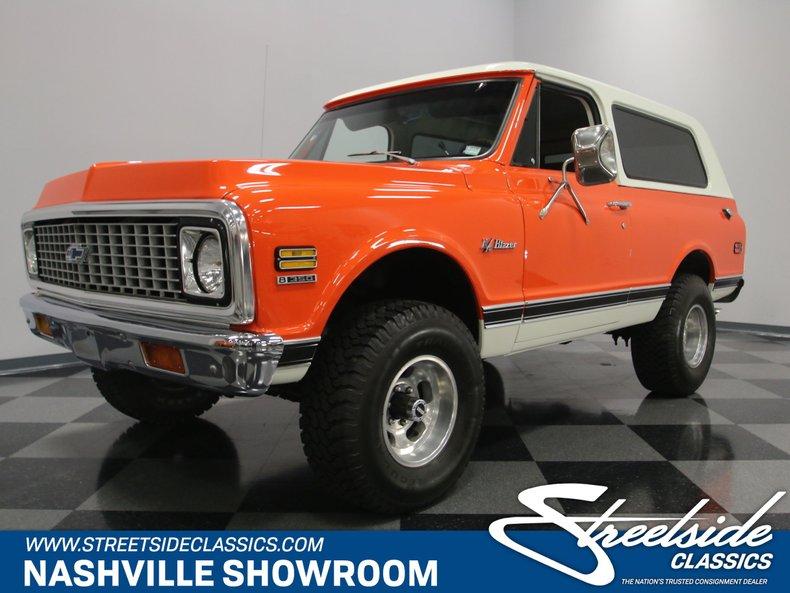 For Sale: 1971 Chevrolet K5