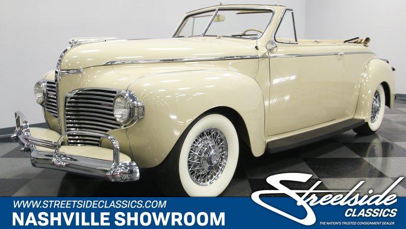 1941 Dodge Luxury Liner For Sale