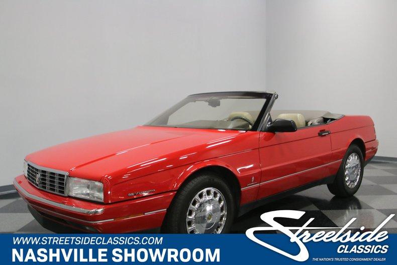 For Sale: 1993 Cadillac Allante