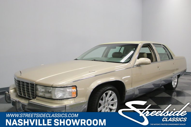 For Sale: 1996 Cadillac Fleetwood