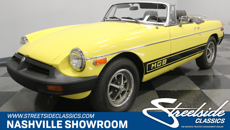 For Sale: 1977 MG MGB