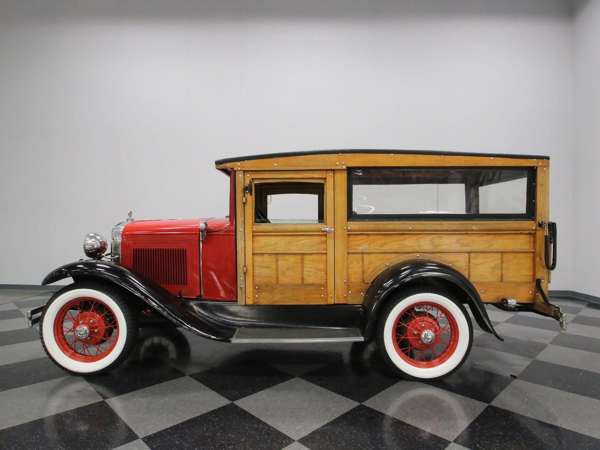 1931 ford model a huckster