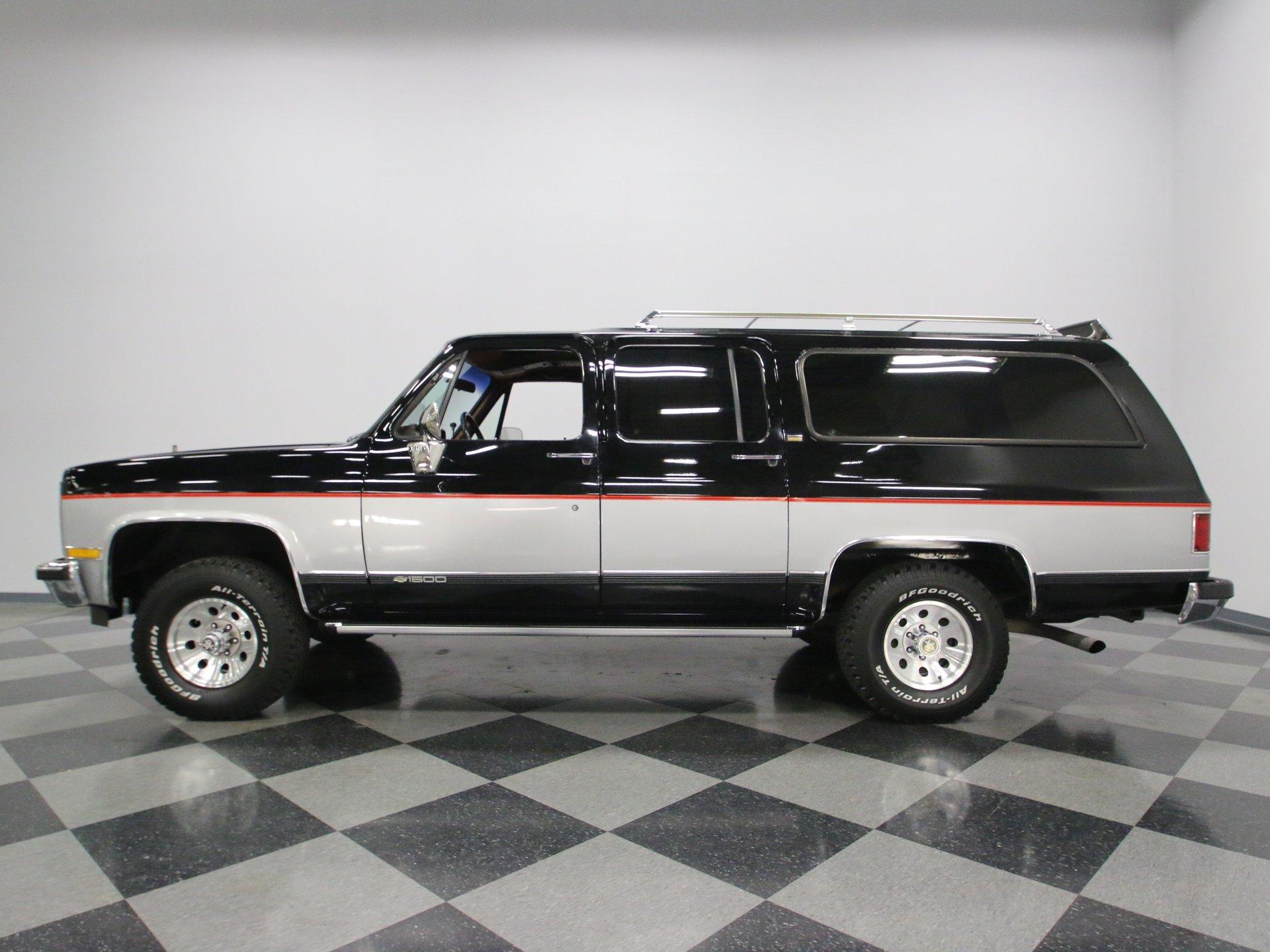 1989 chevrolet suburban 4x4