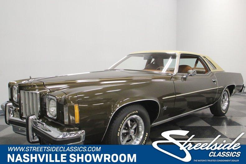 For Sale: 1975 Pontiac Grand Prix