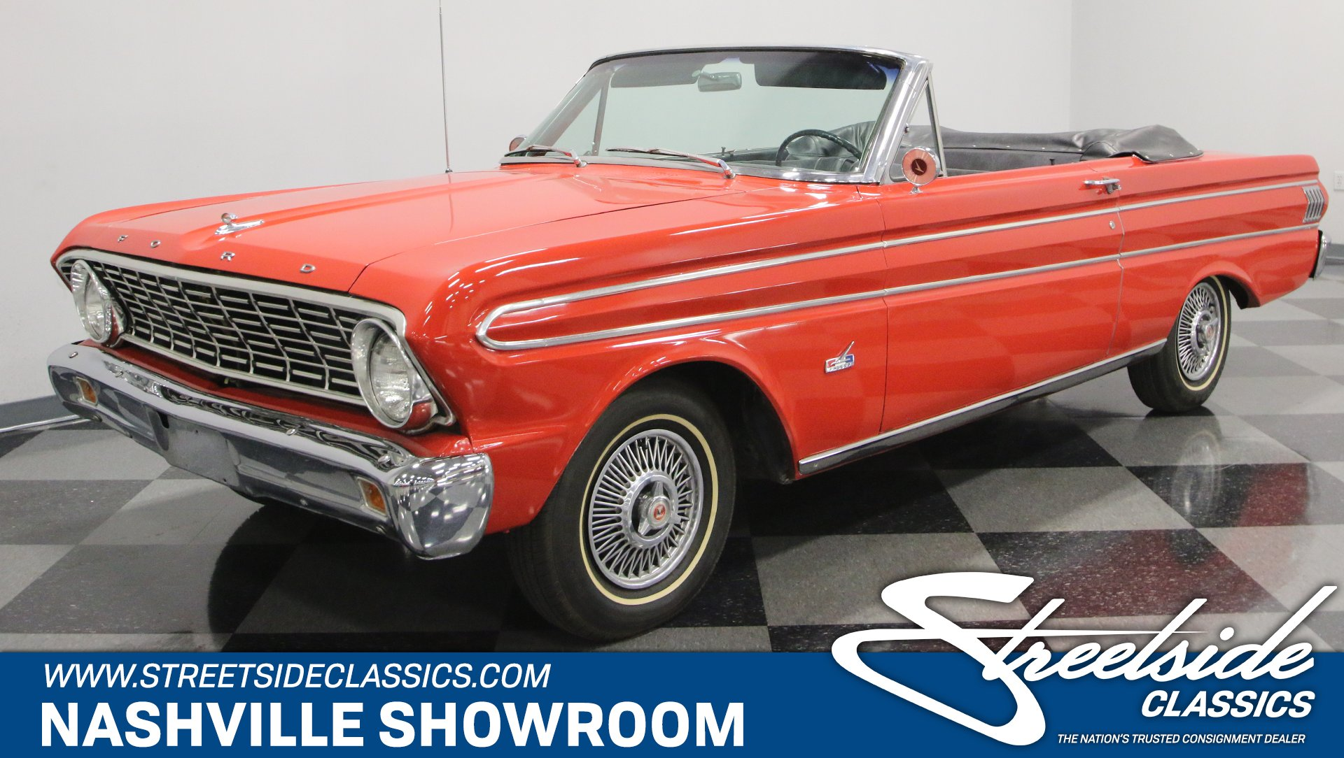 1964 Ford Falcon Convertible Futura For Sale 83631 Mcg